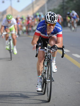 Sylvain Chavanel has a go now - and he's opened a gap...