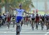 Arnaud Demare wins stage six after a crash by Mark Cavendish disrupted the sprint for many contenders...