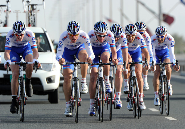 FDJ took 11th place, 23-seconds down...