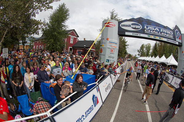 Breckenridge was out in force for the start of stage 5 today...