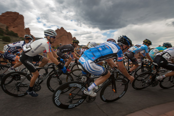 While BMC and Garmin are up front, the rest of the field are content to save energy for tomorrow.