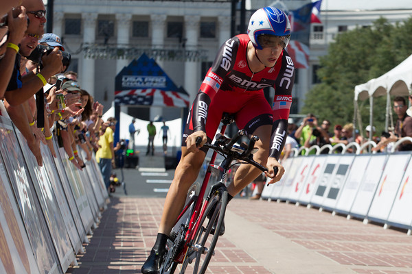 Taylor Phinney takes the day! Blazing the 15.3 km course in 17:25!
