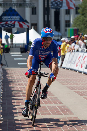 Dave Zabriskie Finished in the top ten, in tenth - 45 seconds off the pace.