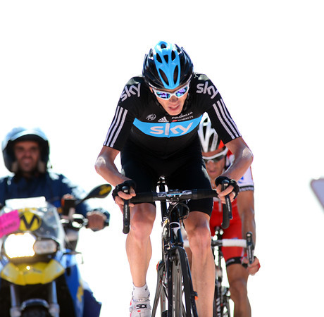 Froome takes fifth, and has lost significant time today..!