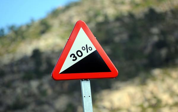 A never-seen-before sign at the foot of the Mirador de Ezaro..!