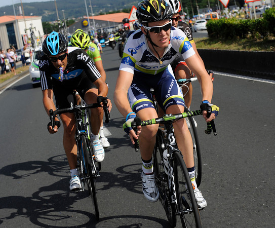 Meyer and Flecha have kept the escape one minute ahead into the last 10-kilometres...