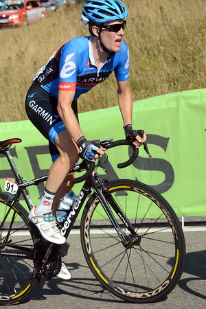 Andrew Talansky has been dropped with Froome and Roche, but he's fighting hard to get back...