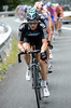 Ben Swift is trying to pace Froome back along the valley towards the final climb...