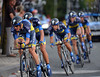 Saxo Bank carried Alberto Contador to 7th, just 14-seconds down...