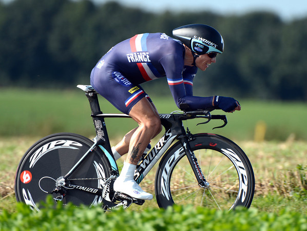 "Sylvain Chavanel wanted more, but took 15th, 2' 58"" down..."