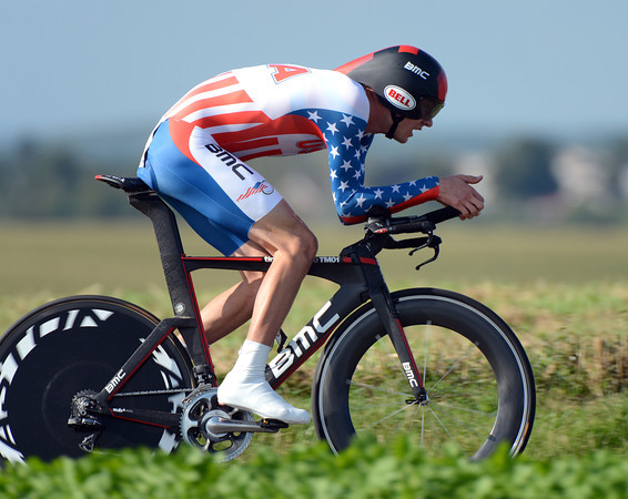 "Tejay Van Garderen looked great as he took 4th place, 1' 49"" down on the winner..."
