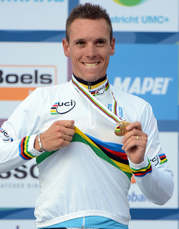 Yes, it's true - Philippe Gilbert is the new Champion of the World..!
