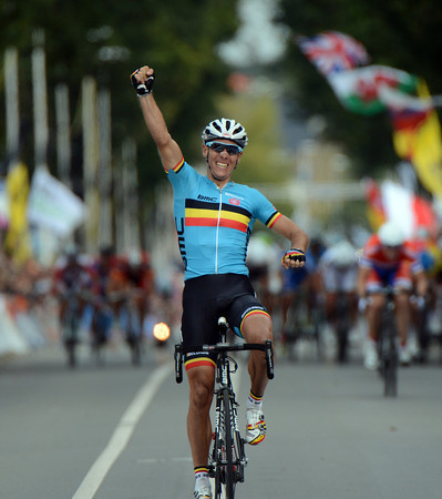 Philippe Gilbert wins the World Championships..!