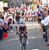 Carlos Betancur has attacked at the foot of the last climb of Huy...