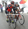 Cadel Evans hasn't cracked, but he'll have to fight hard to keep a podium place on the final day...