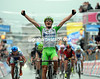 Enrico Battaglin wins stage four of the Giro - the son of the famous Giovanni Battaglin is a very happy man..!