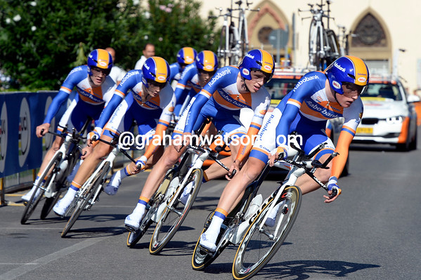 "The Rabo development team took 19th, 4' 28.86"" behind the big boys..."