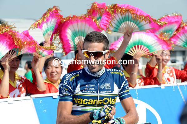 Juan Antonio Flecha found plenty of local support before his last major race...