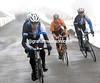 Bram Tankink and Juan Manuel Garate have attacked from the peloton with three others..
