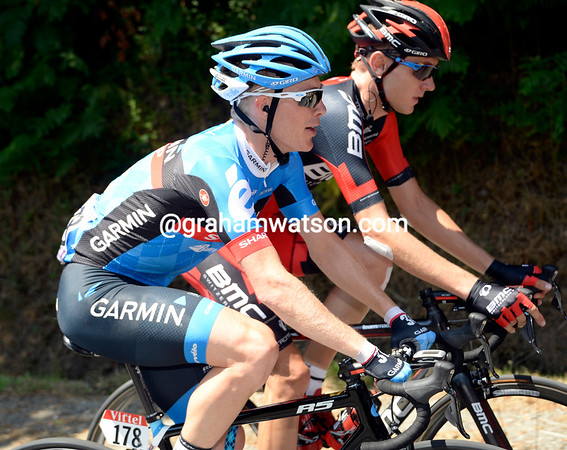 On the quietest day in the Tour so far, riders like Andrew Talansky and Tejay Van Garderen have plenty of time to chat...