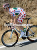 Pierre Rolland looks bright and shiny in his Polka-Dot clothing today..!