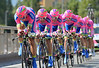 Lampre pulled off a great 8th place, 25-seconds down...