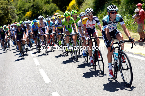 Omega starts to chase, they want anohter stage-win for Mark Cavendish...