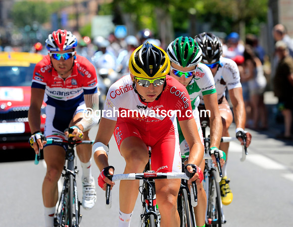 Cofidis are in a real escape for the first time today, thanks to Rudy Molard...