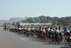 The scenery in Oman is making up for the lack of racing by the peloton...