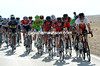 Surprise, surprise, it is BMC leading the race into the wind and hurting Team Sky the most...