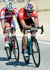 Edvald Boasson Hagen has attacked alone, but now has Marco Haller with him...