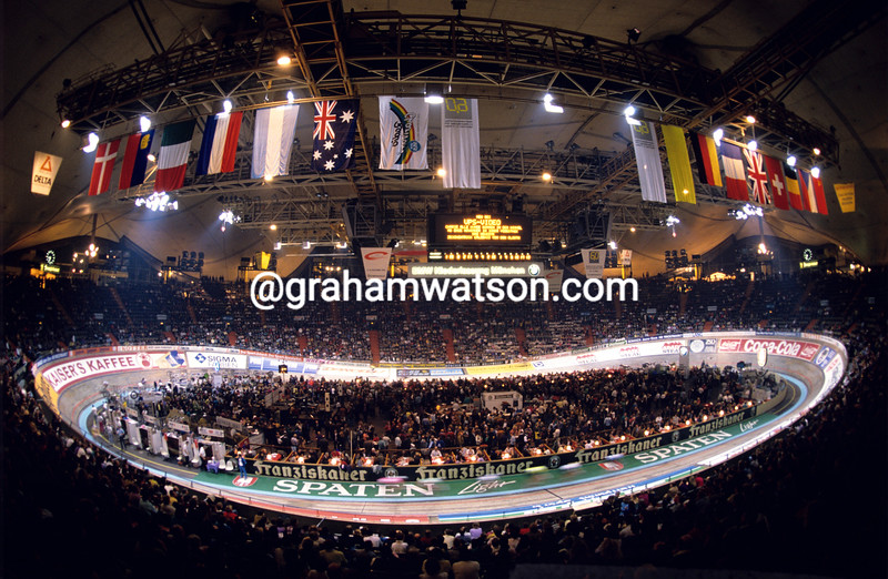 The Munich-6 Day Race in 1991