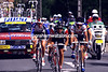Steve Bauer on a stage-one escape in the 1990 Tour de France