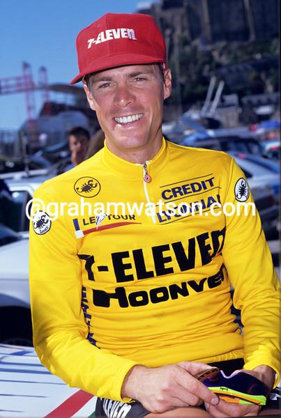Steve Bauer at the 1990 Tour de France