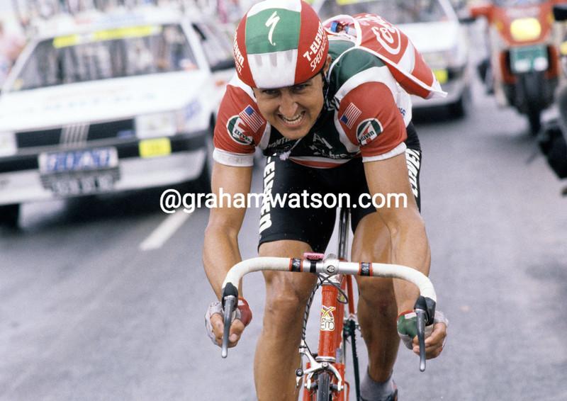 Roy Knickman in the 1989 Tour de France