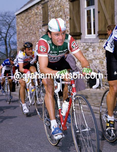 Jens Veggerby in the 1987 Fleche Wallonne