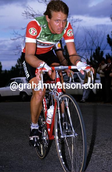 Chris Carmichael in 1985