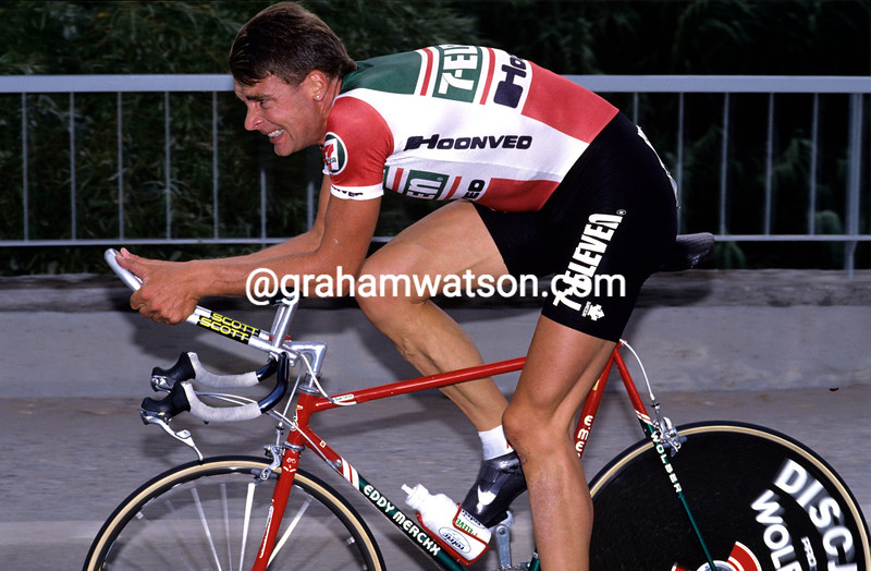 Sean Yates in the 1989 G.P. Nations