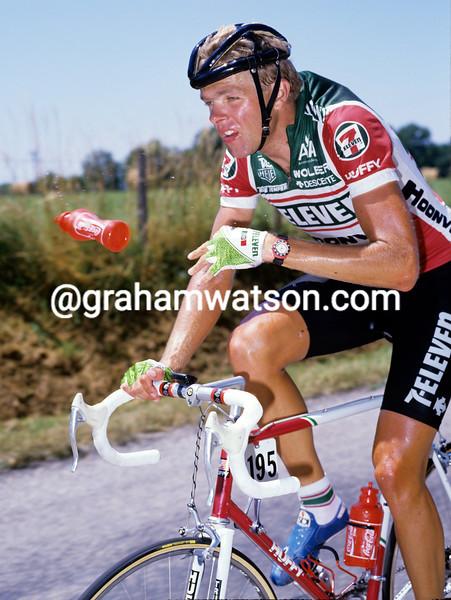Ron Kiefel in the 1988 Tour de France