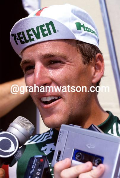 Davis Phinney at the 1987 Tour de France