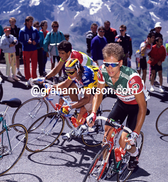 Andy Hampsten in the 1986 Tour de France