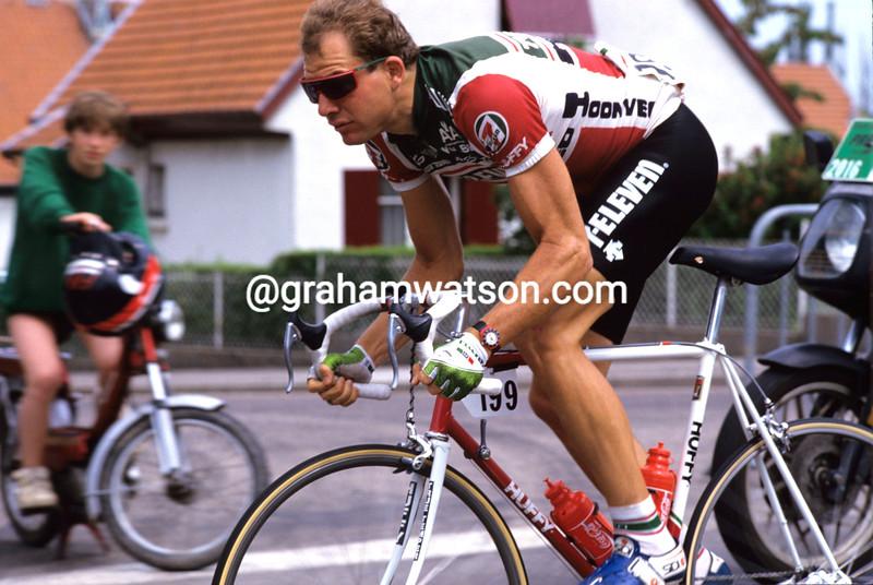 Bob Roll in the 1989 Tour de France