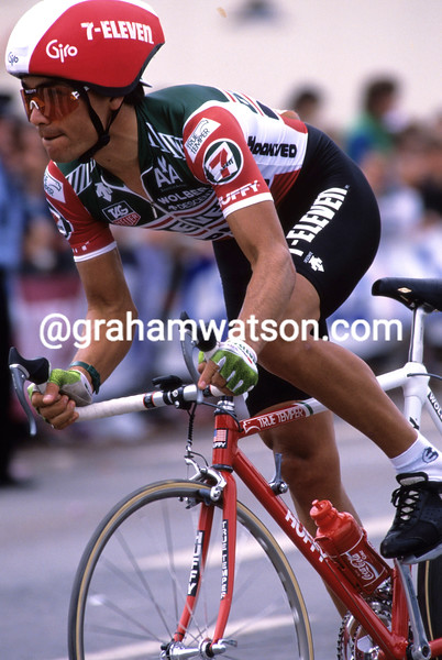 Raul Alcala in the 1989 Tour de France
