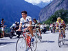 Raul Alcala at Alpe d'Huez in the 1987 Tour de France