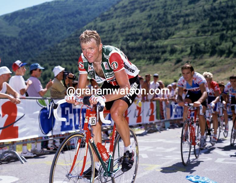 Ron Kiefel in the 1989 Tour de France