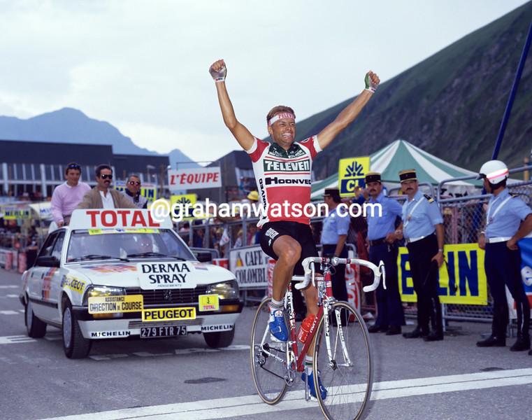 Dag-Otto Lauritzen in the 1987 Tour de France