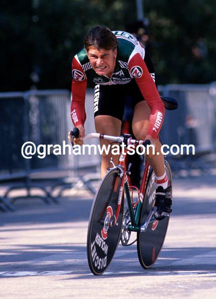 Sean Yates in the 1989 Tirreno-Adriatico