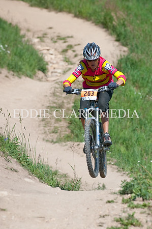 Pro racer Jennifer Whalen catches some air on her way down.