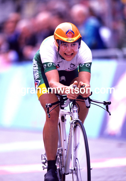 Anna Wilson in the 2004 World TT Championships