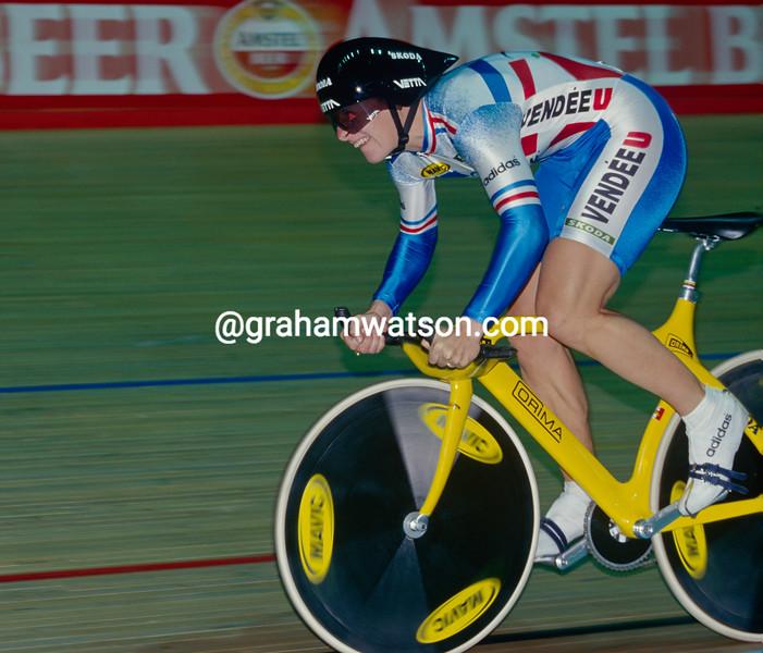 Felice Ballinger in the 1993 World Championships